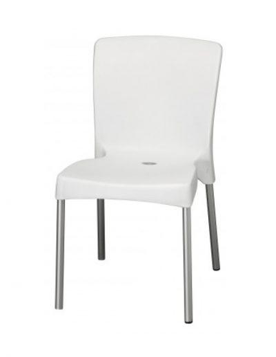 Anna café chair (white)