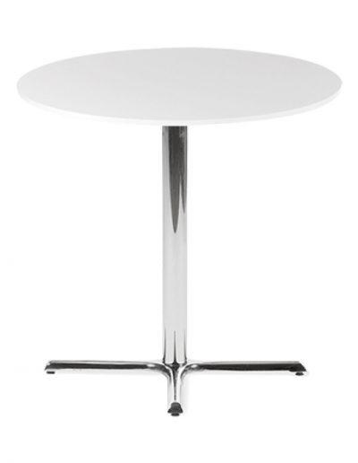 Café round table (white)