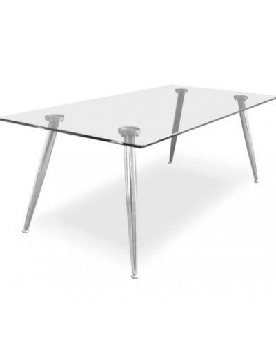 Coffee amber rectangular table